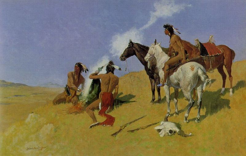 800px-Frederic_Remington_smoke_signal